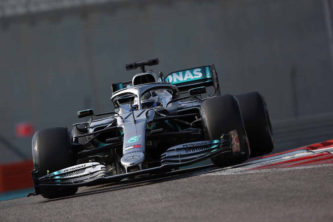 2019年 F1アブダビテスト 初日