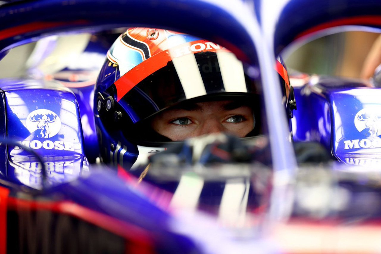 ピエール・ガスリー、146周を走行「STR14での最後の1日はクールだった」