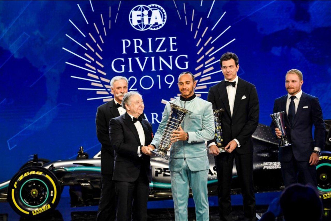 FIA表彰式
