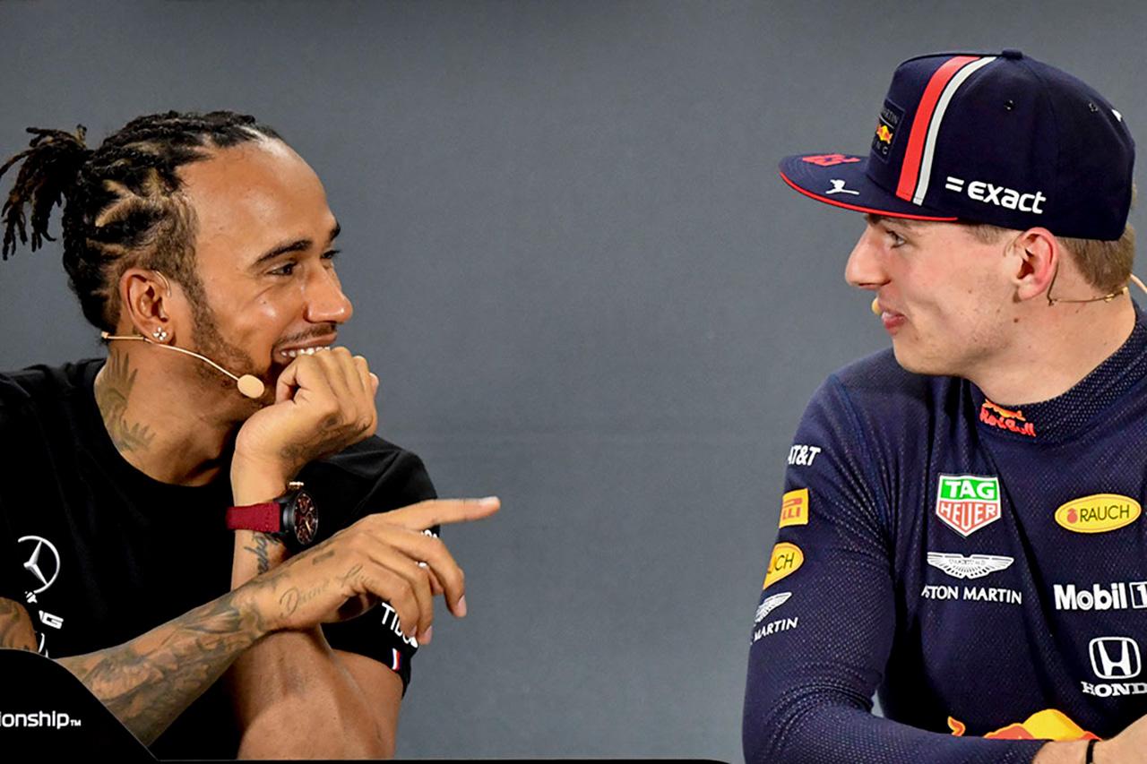 ルイス・ハミルトン 「フェルスタッペンはメルセデスF1に売り込んでいる」