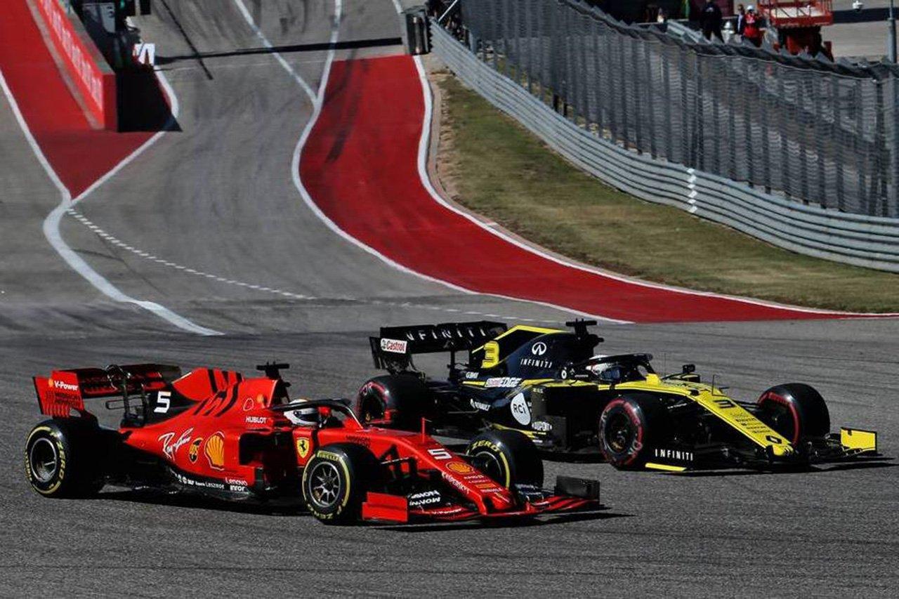 ルノーF1 「レースでの我々のF1エンジンの競争力はフェラーリと同等」