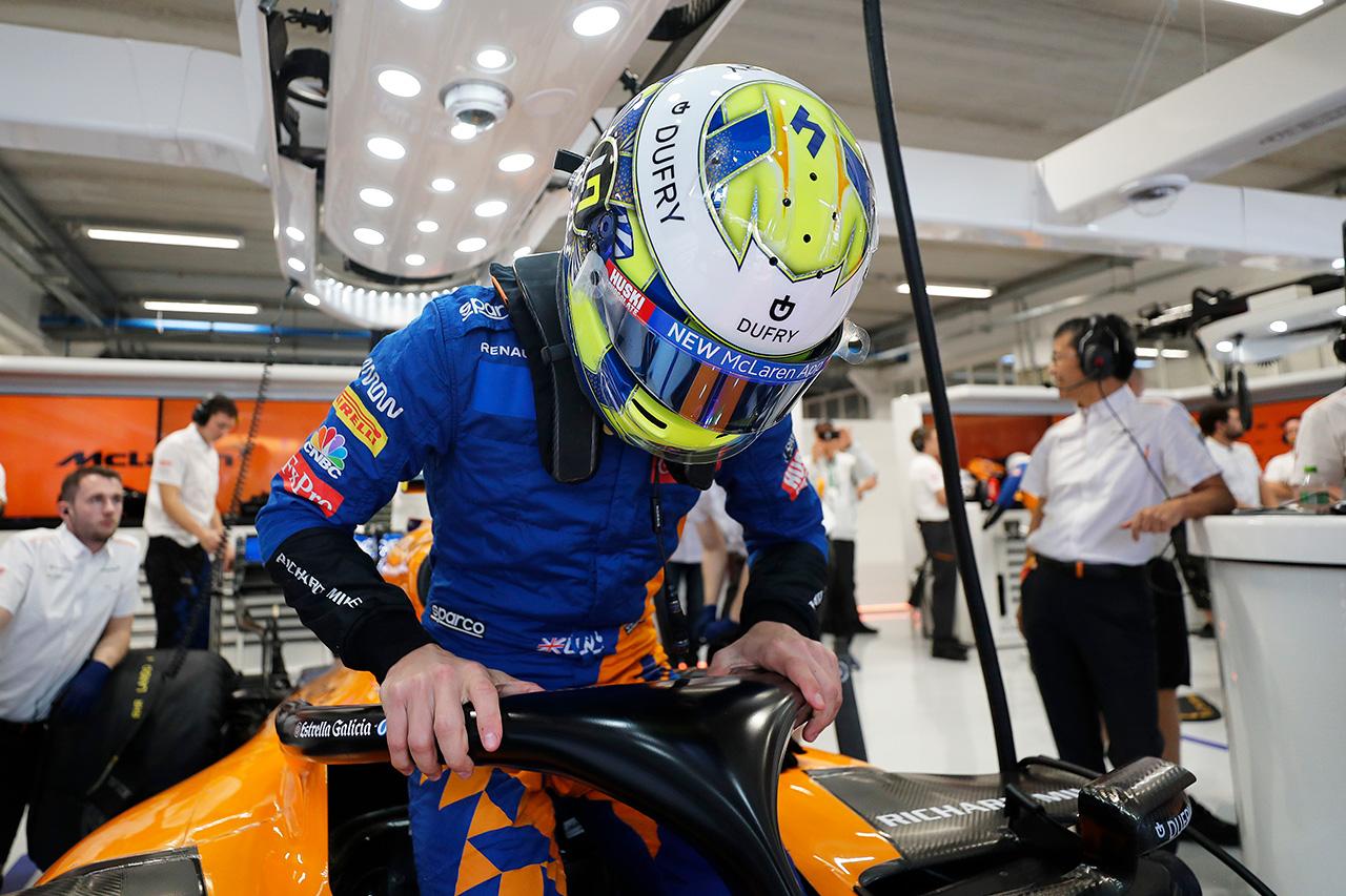 ランド・ノリス 「F1デビュー前は自分の競争力に自信がなかった」