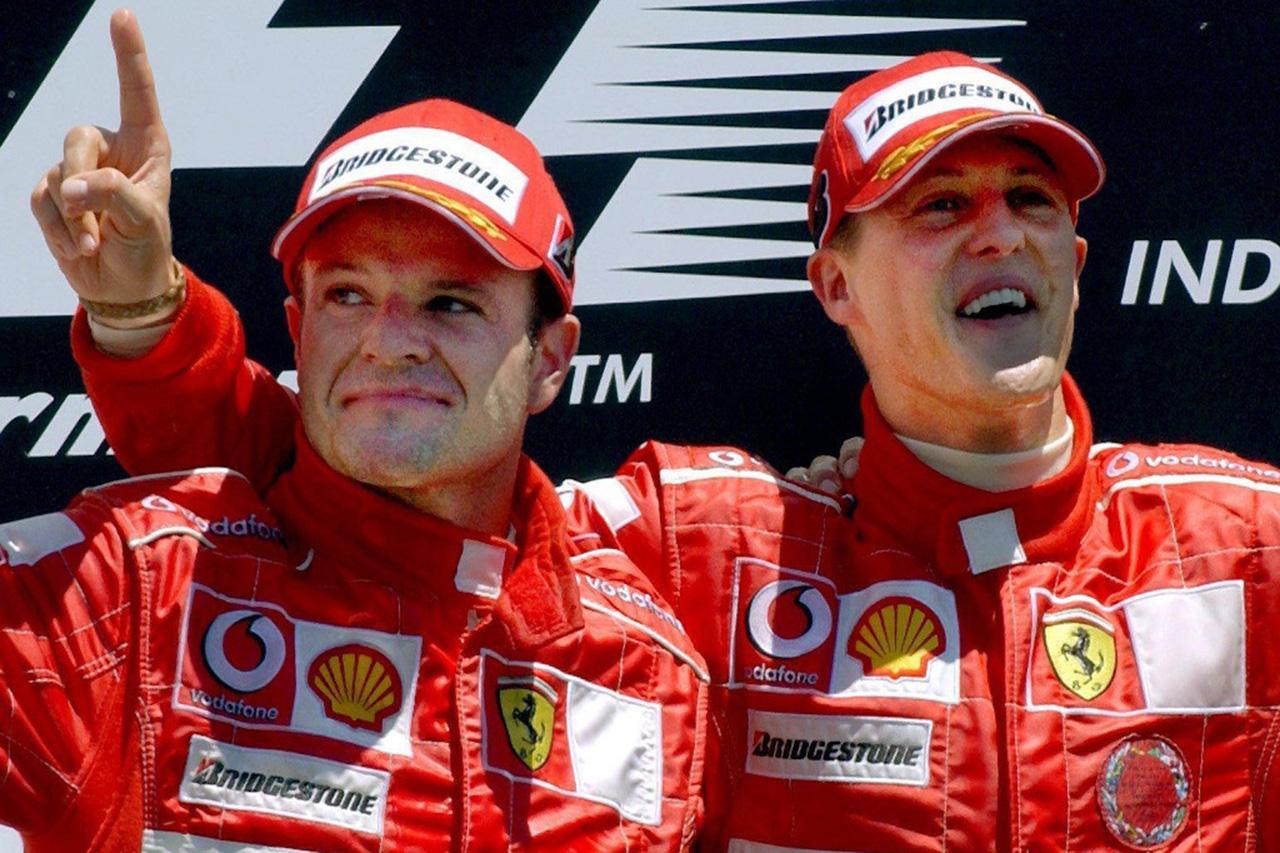 バリチェロ 「シューマッハは自分のためだけにレースをしていた」