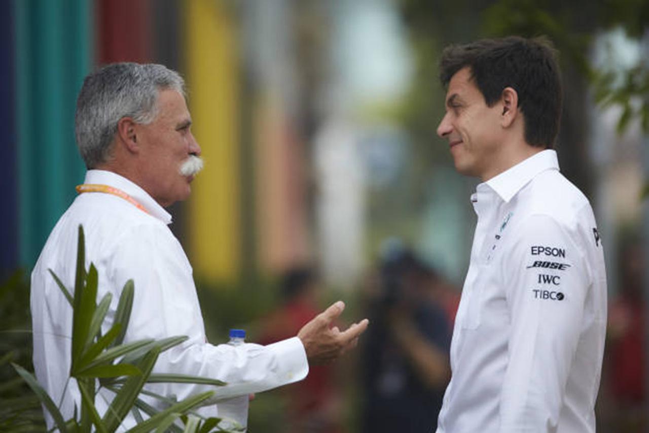 フェラーリ 「トト・ヴォルフのF1トップ就任の動きは阻止する」