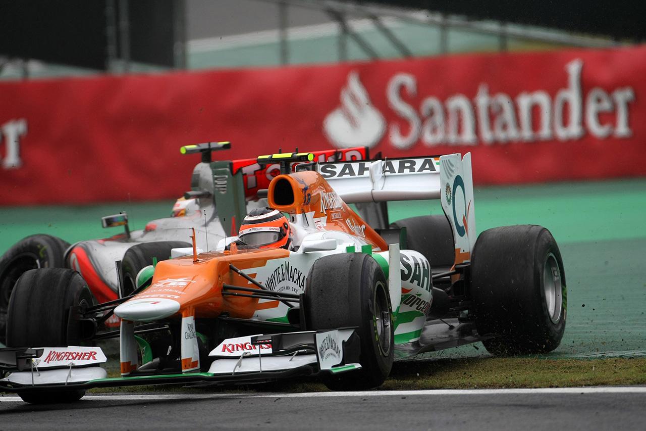ニコ・ヒュルケンベルグ 「2012年のF1ブラジルGPで勝っていれば…」