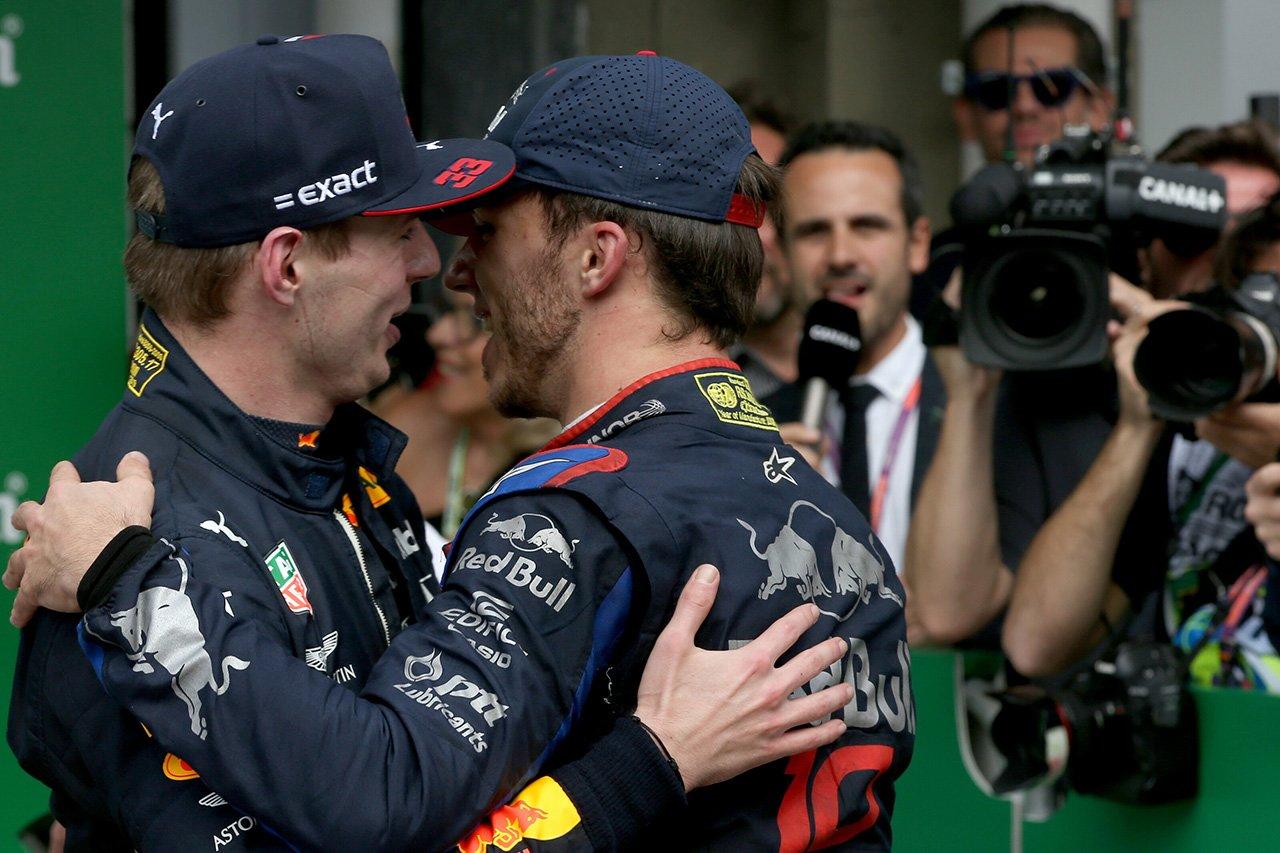 マックス・フェルスタッペン、ガスリーの降格に言及「F1は厳しい世界」