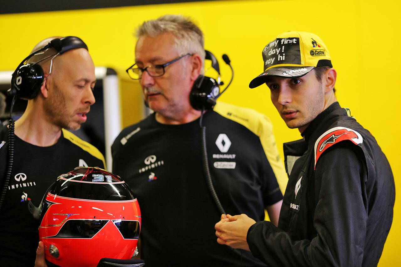 エステバン・オコン 「2020年にルノーF1と表彰台を獲得することが目標」