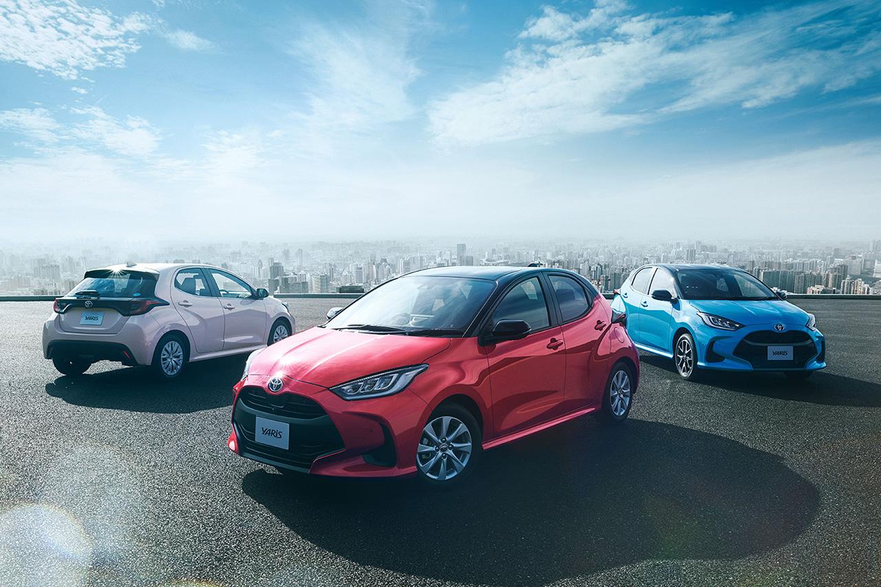 トヨタ、新型車ヤリスを2020年2月10日に発売