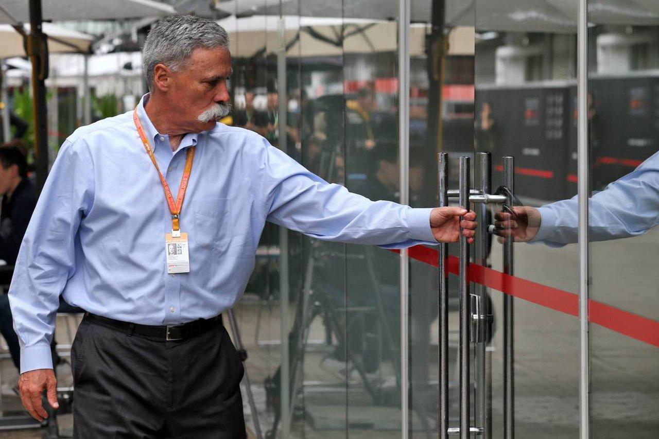 F1 CEOのキャリー 「今後もフォーミュラEがF1の脅威になることはない」