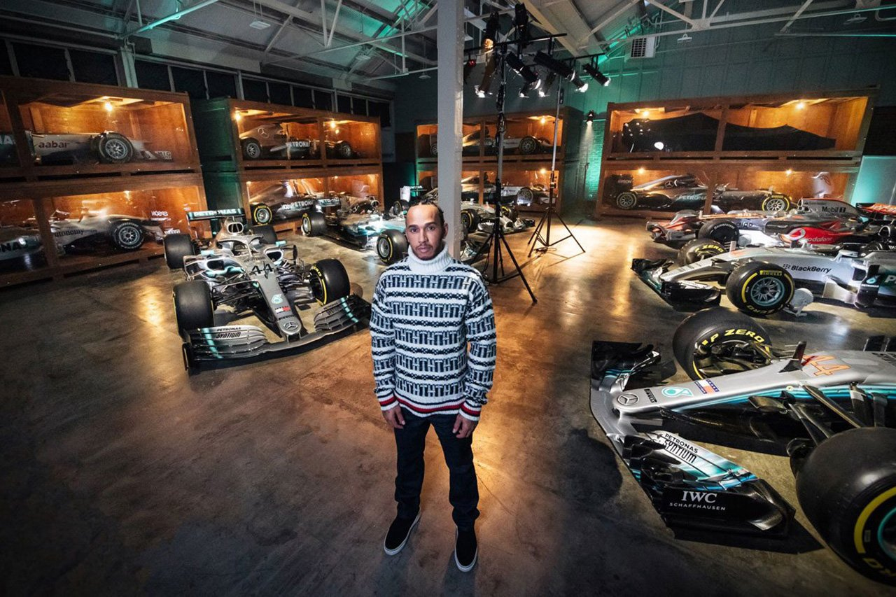 【動画】 ルイス・ハミルトン、F1タイトルを獲得した6台のマシンと再会