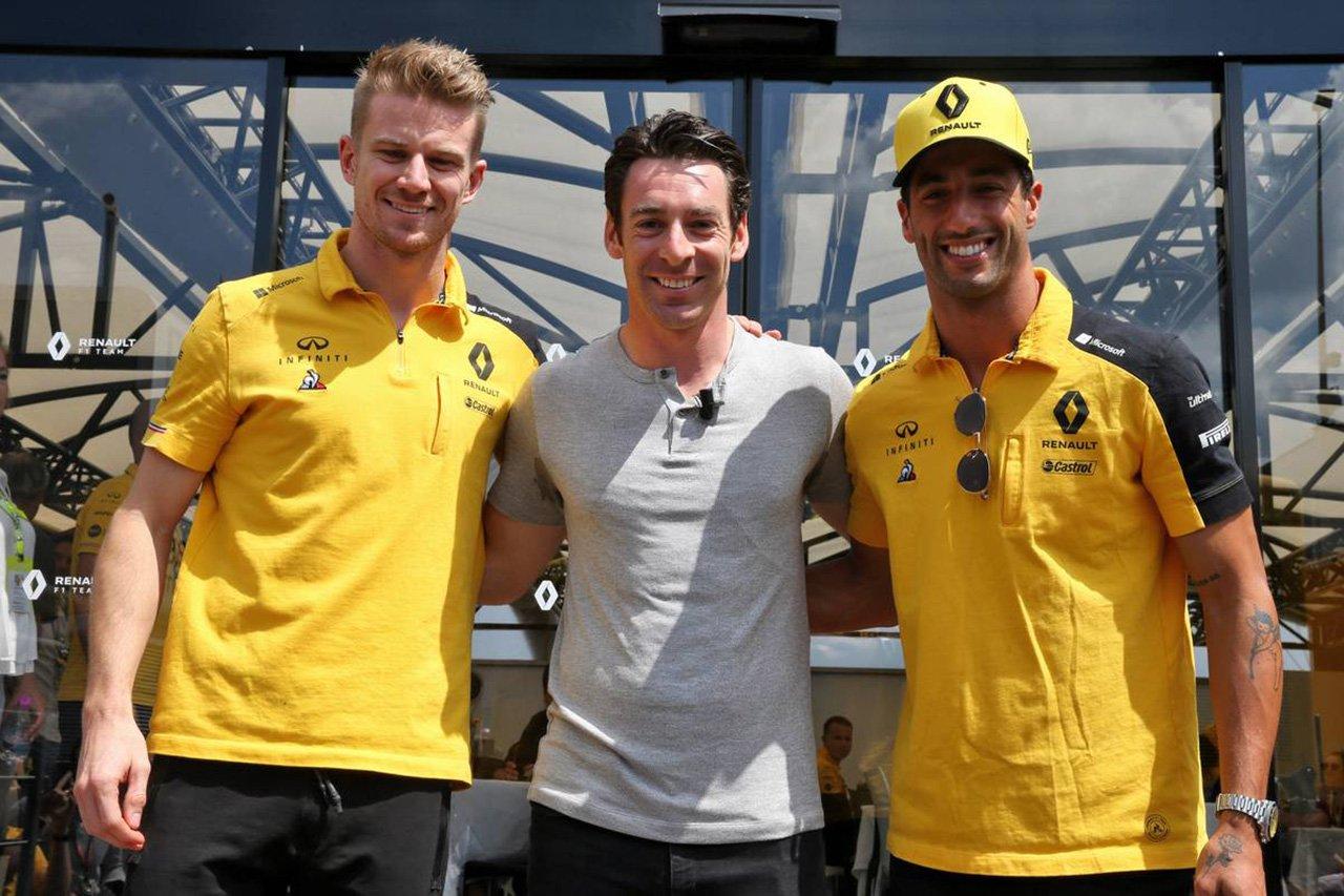 シモン・パジェノー 「F1がモータースポーツへの情熱をスパークさせた」