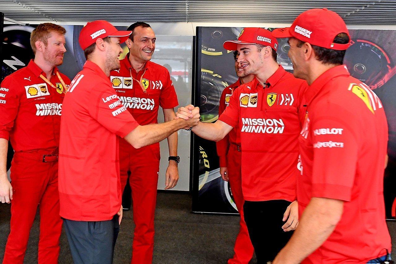 """フェラーリF1代表、ドライバー同士のバトルに""""慣れてきている"""""""