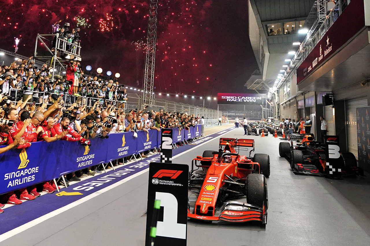 フェラーリF1代表 「ベッテルの自信のためにも勝たせることが重要だった」