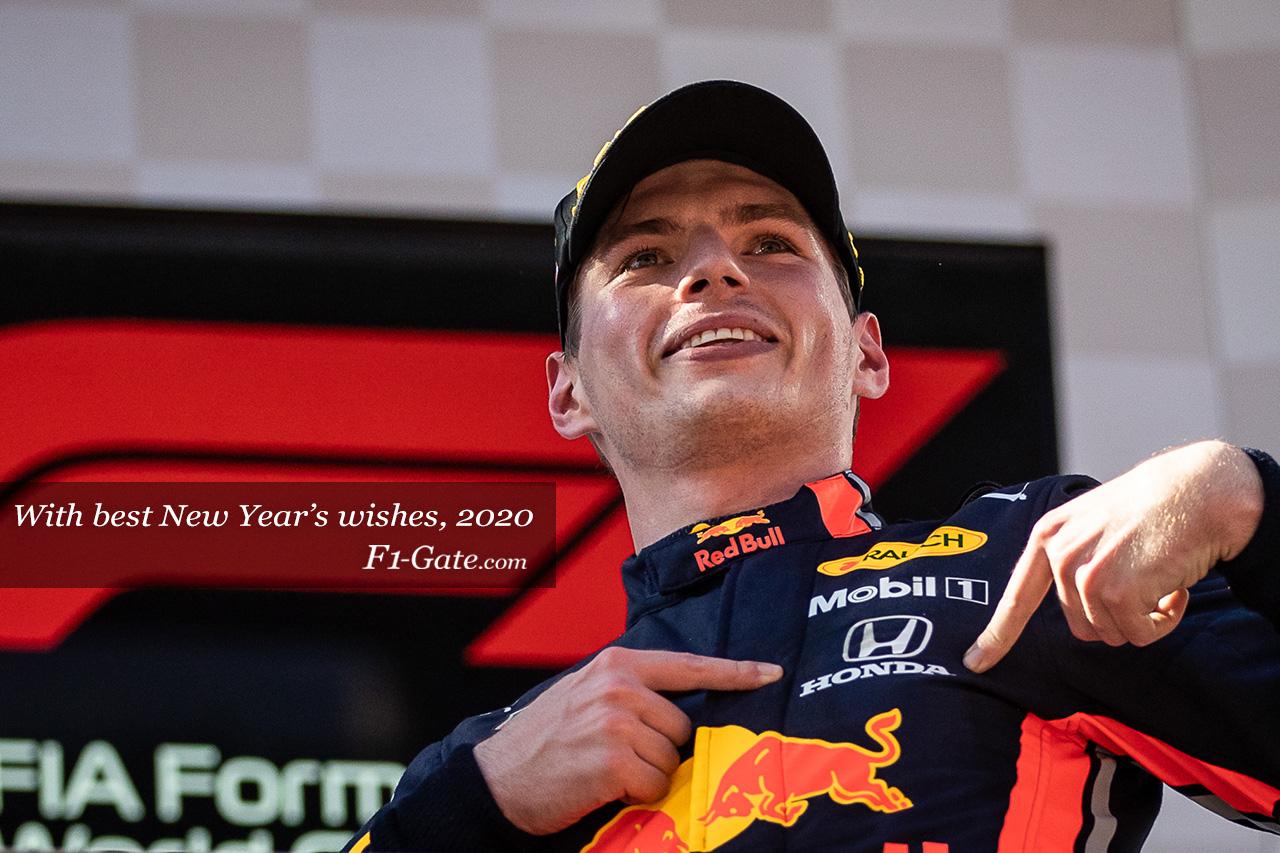 HAPPY NEW YEAR!! 2020年もF1は見逃せない!!