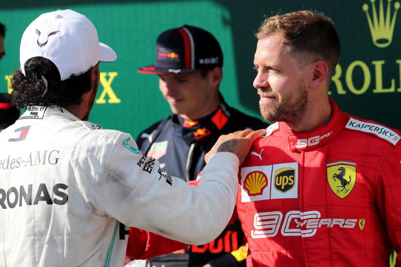 セバスチャン・ベッテル 「どのF1ドライバーとの競争も恐れてはいない」