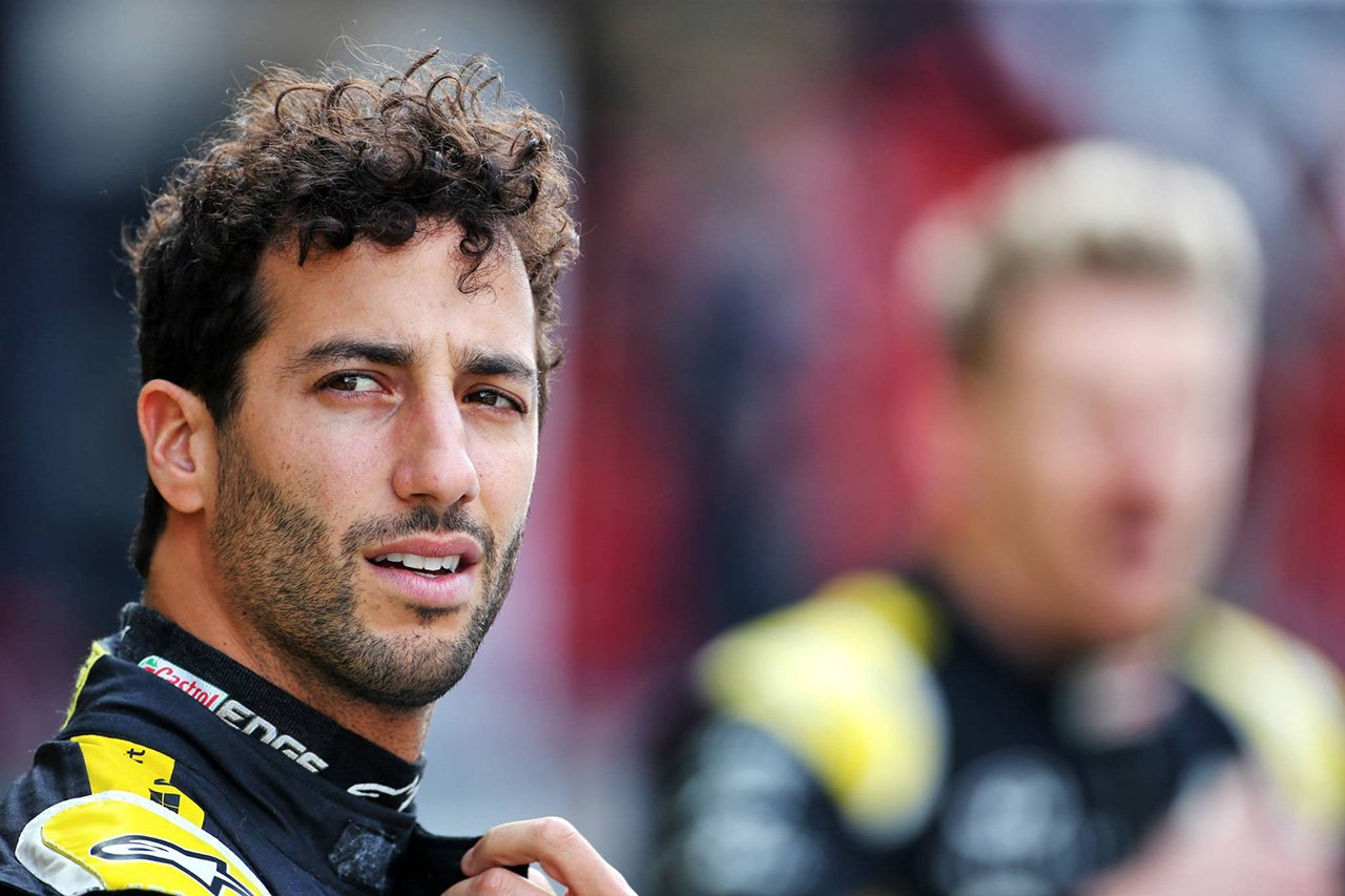 ダニエル・リカルド 「自分がランキング9位のF1ドライバーだとは思ってない」