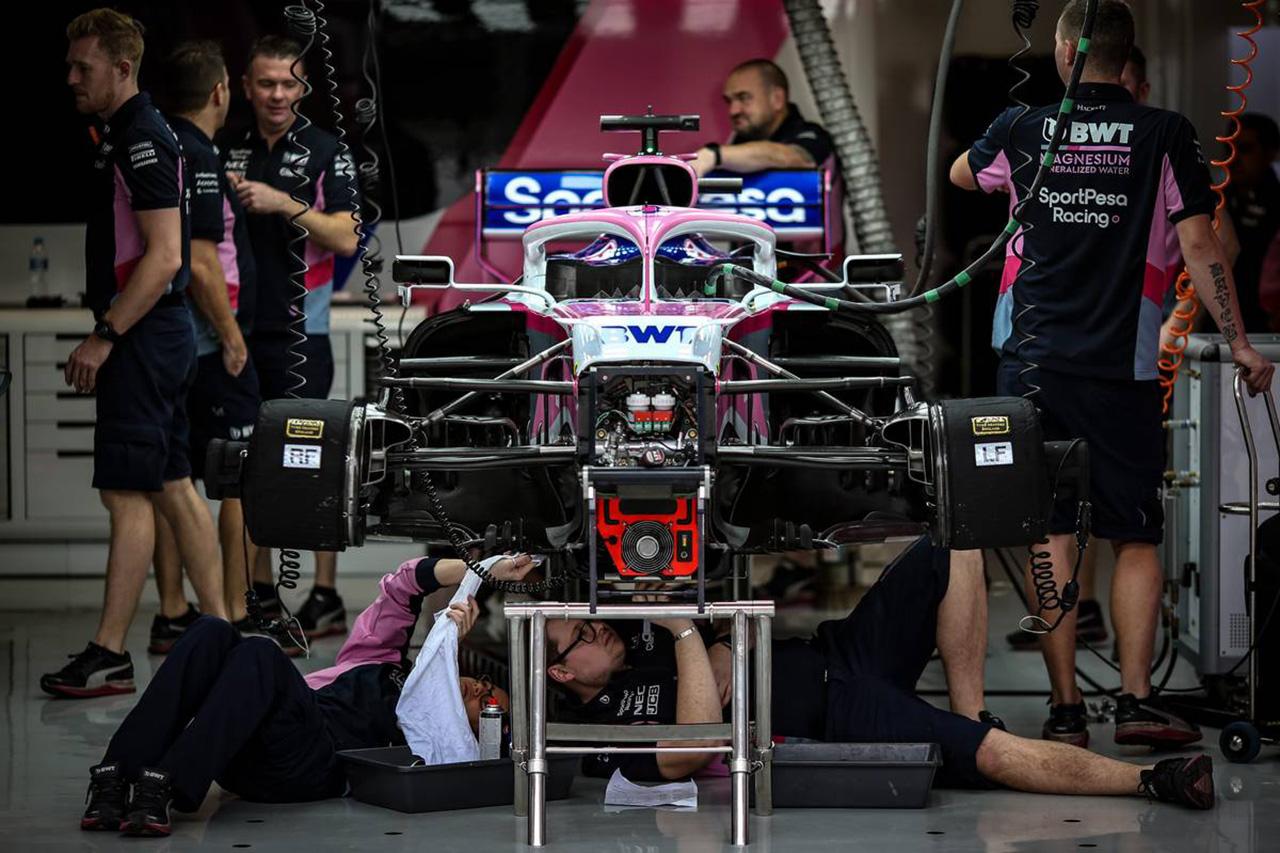 レーシングポイント、2020年F1マシン『RP20』がクラッシュテストに合格