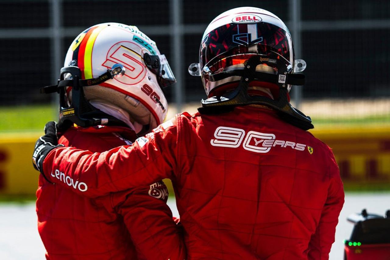 フェラーリ元会長 「2020年はベッテルにとってデリケートなシーズン」