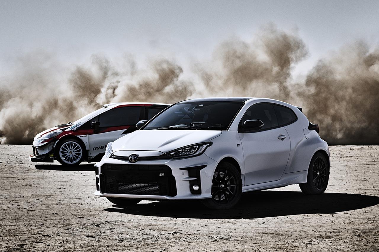 トヨタ、新型車GRヤリスを初公開 … WRCの知見とノウハウを注入