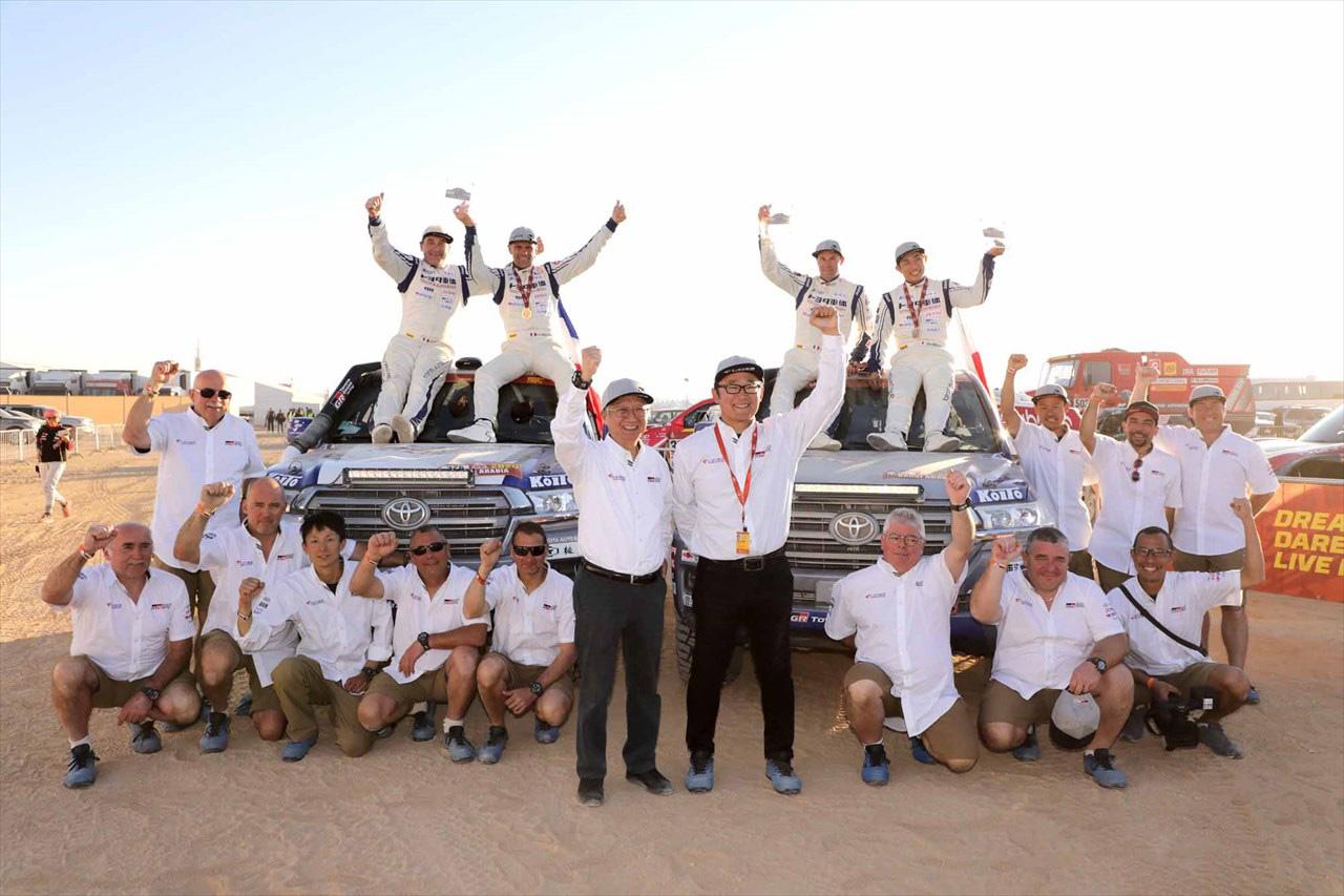 トヨタ車体、ダカールラリー2020で市販車部門7連覇を達成!