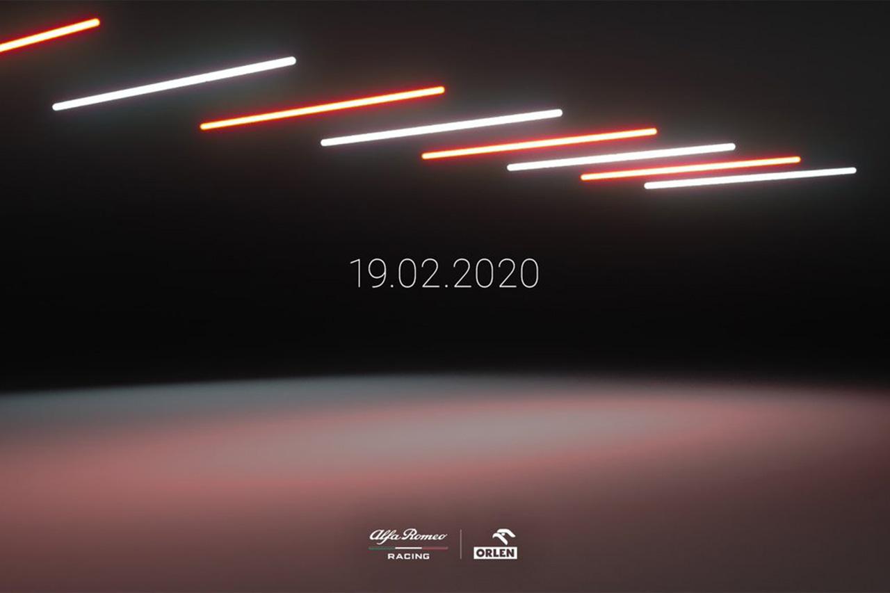 アルファロメオ・レーシング、2020年F1マシン『C39』を2月19日に披露