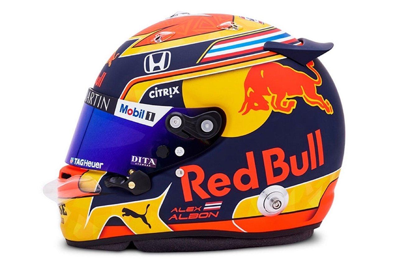 アレクサンダー・アルボン (レッドブル・ホンダ) 2020年 F1ヘルメット