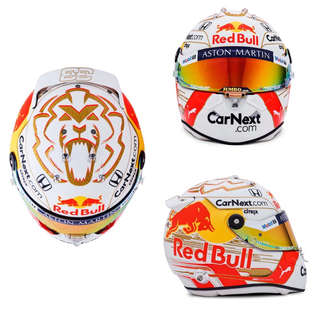 マックス・フェルスタッペン 2020年 F1ヘルメット / レッドブル・ホンダ