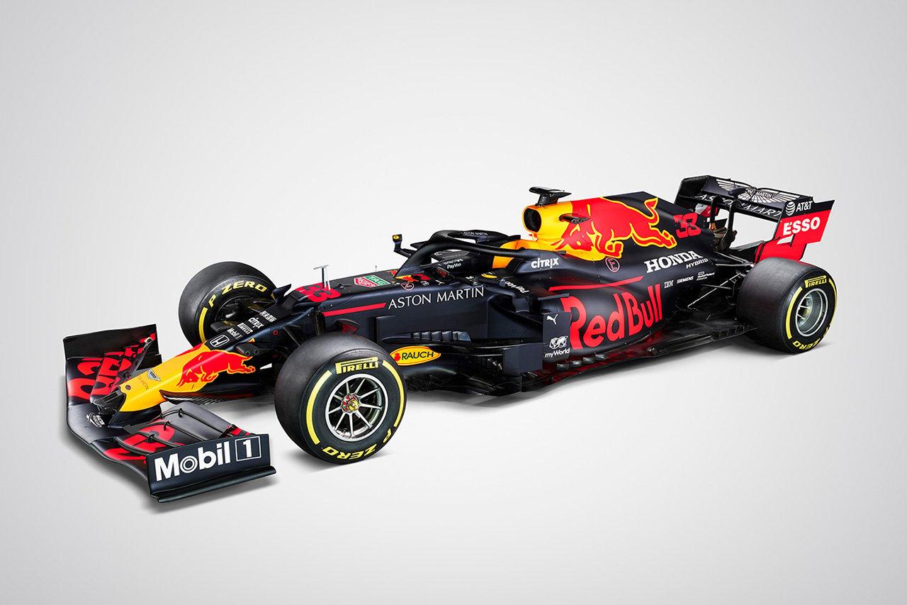 レッドブル・ホンダ、2020年F1マシン『RB16』を公開
