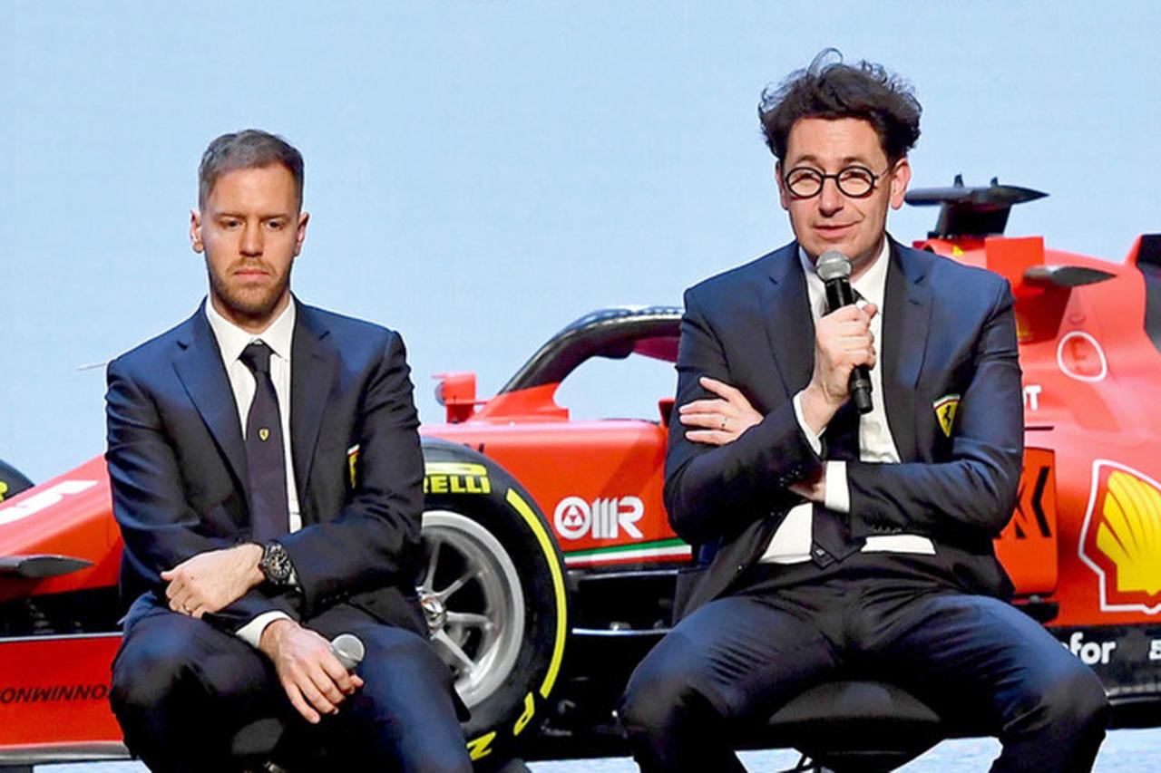 フェラーリF1 「ハミルトン獲得よりもベッテルとの契約延長が優先事項」