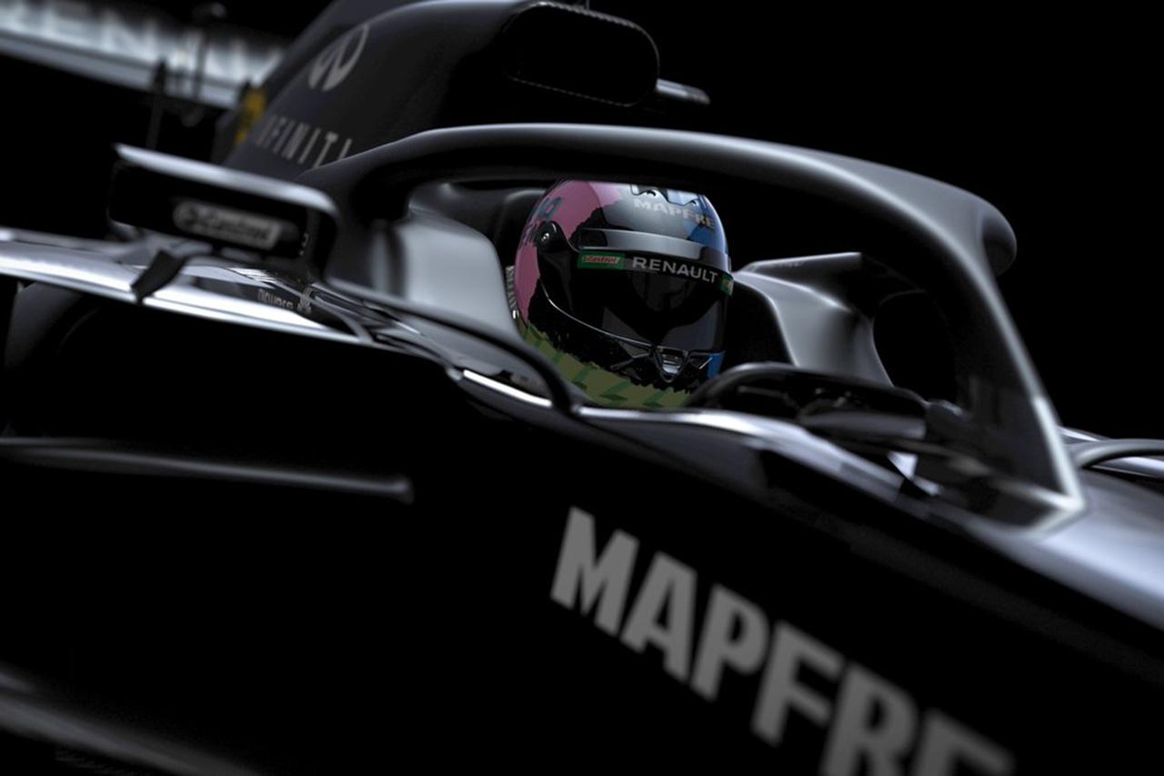ルノーF1チーム、2020年F1マシン『R.S.20』の一部を公開
