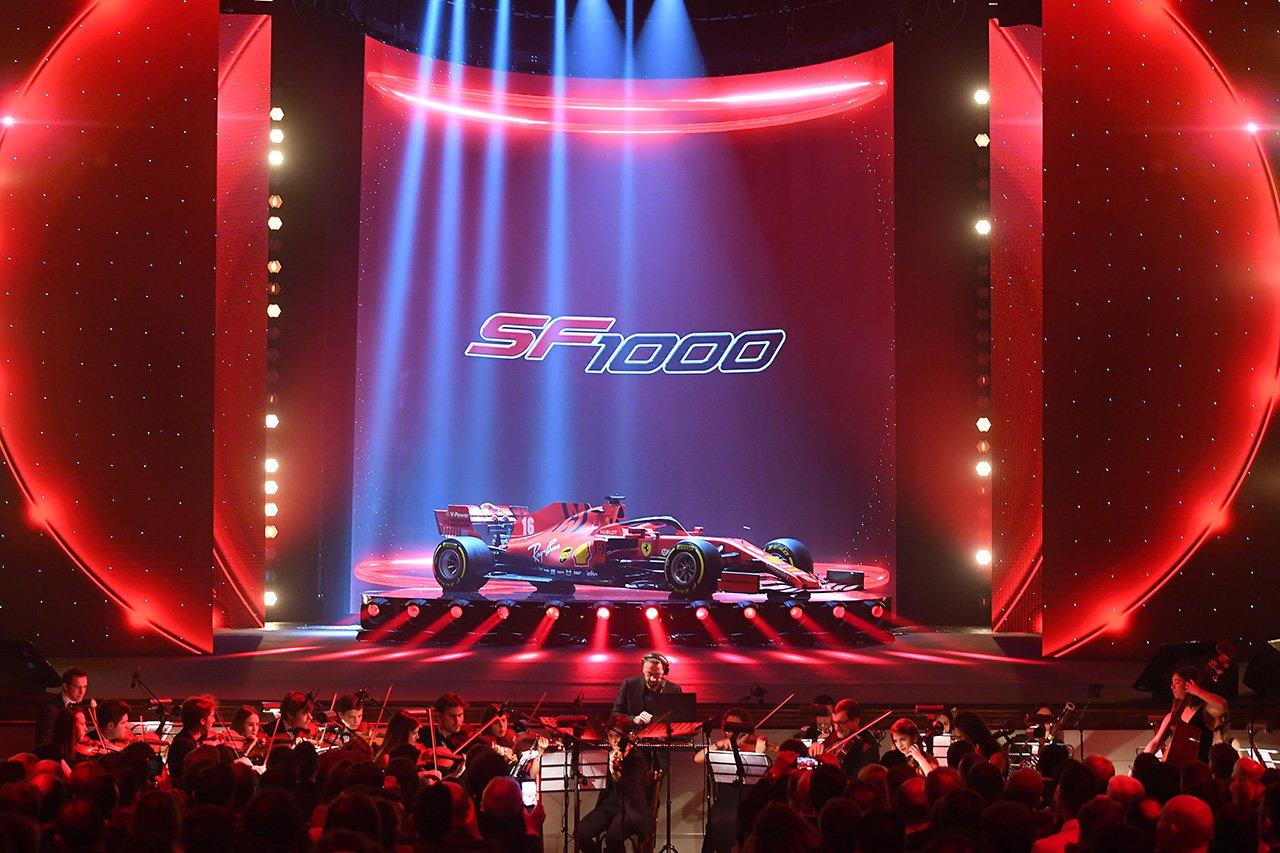 【動画】 フェラーリ SF1000 新車発表会 / 2020年F1マシン