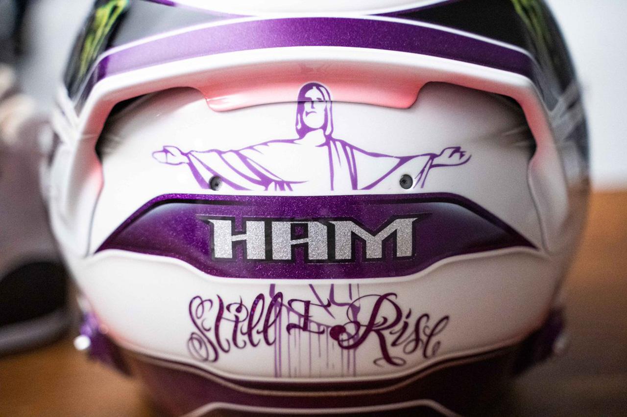 5ルイス・ハミルトン 2020年 F1ヘルメット