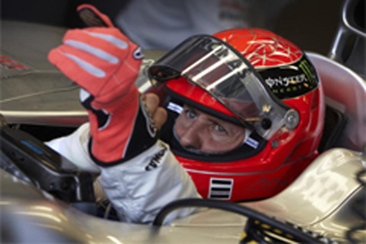 ミハエル・シューマッハ 「2012年も間違いなくF1で戦う」