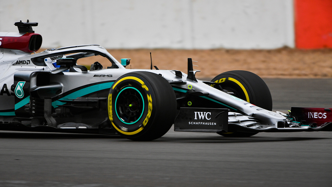 メルセデス AMG F1 W11 シェイクダウン