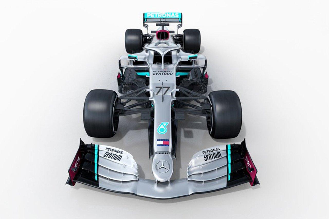 メルセデスF1、2020年F1マシン『W11』を正式発表