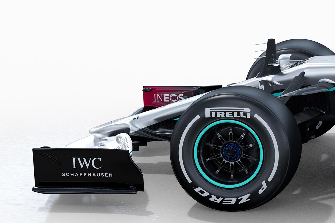 メルセデスAMG F1 W11 ⑥