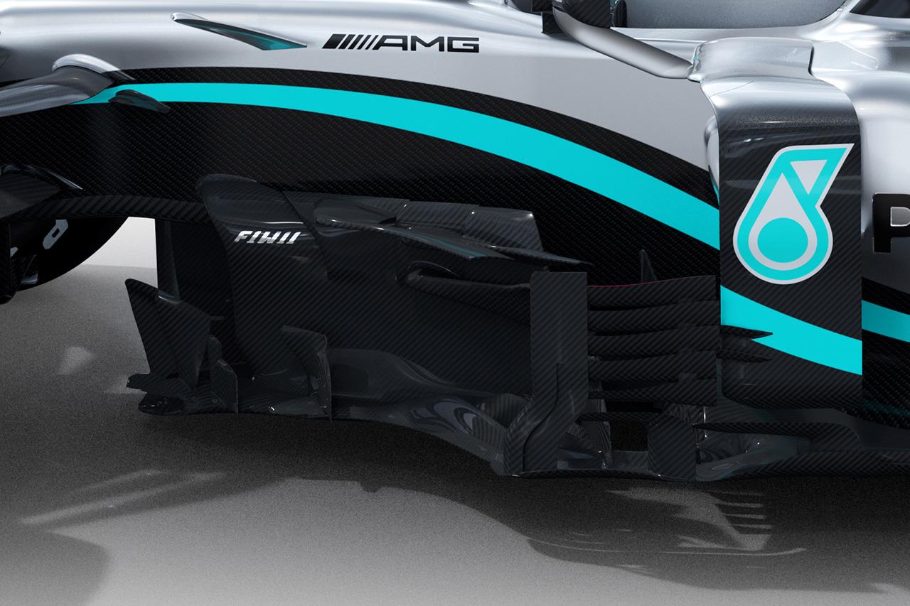メルセデスAMG F1 W11 ⑦