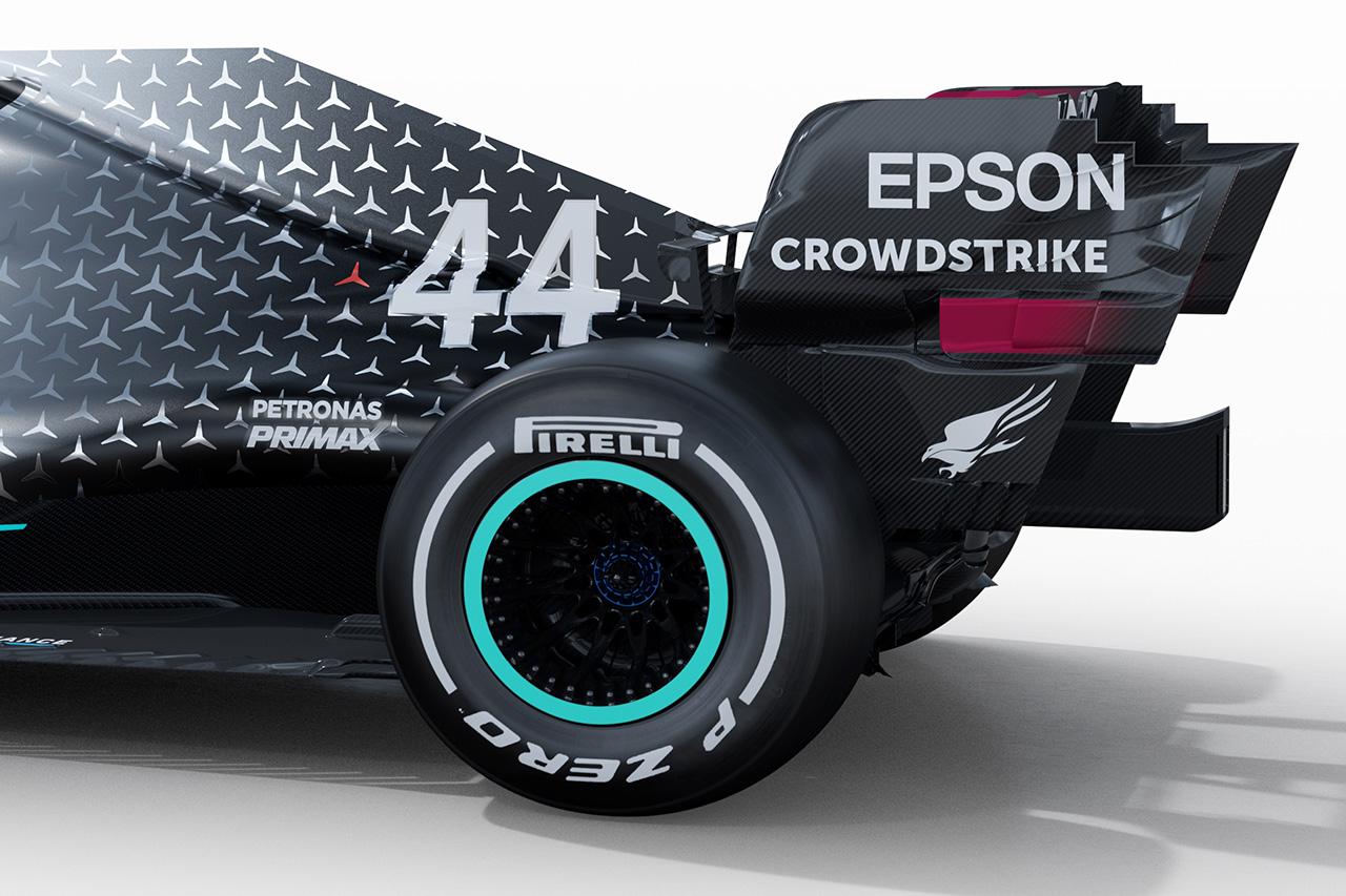 メルセデスAMG F1 W11 ⑩
