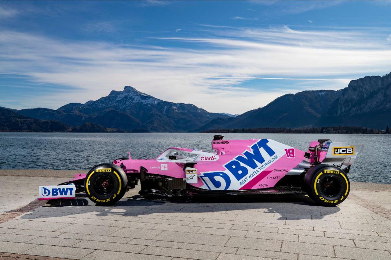 レーシング・ポイントF1チーム RP20(カラーリング)画像