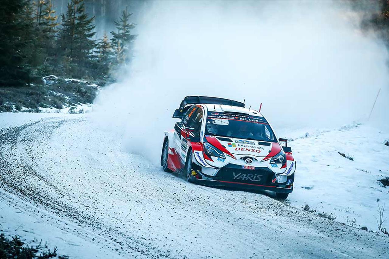 WRC 第2戦 ラリー・スウェーデン デイ1 : エバンスが2本のベストで首位