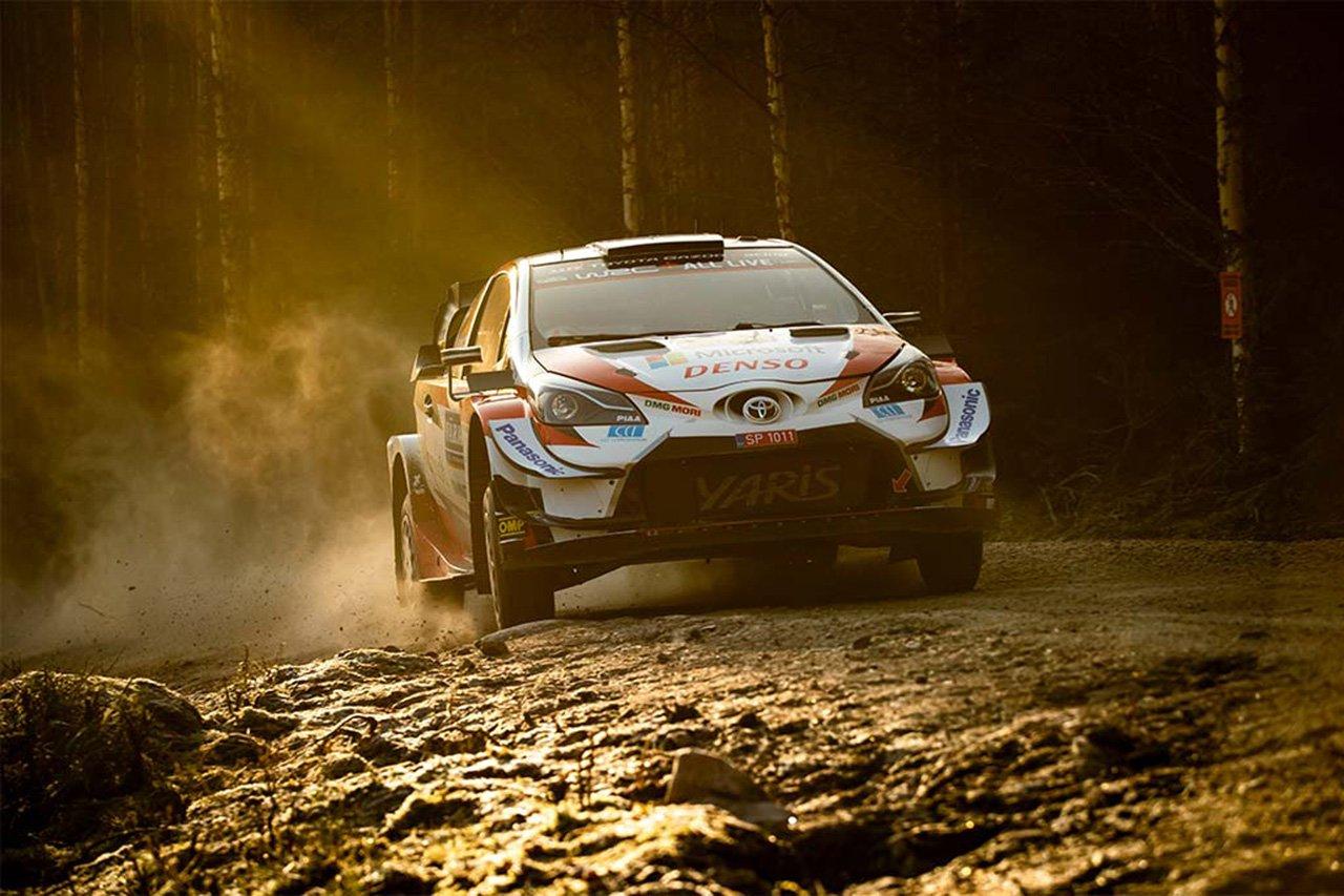 WRC 第2戦 ラリー・スウェーデン シェイクダウン:トヨタがトップ3独占