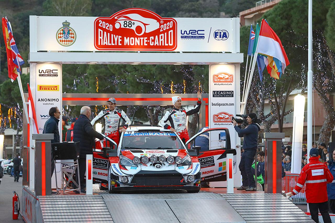 WRC 第1戦 ラリー・モンテカルロ デイ1
