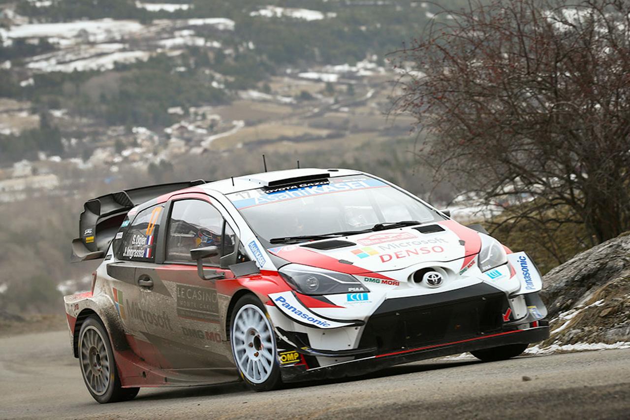 WRC 第1戦 ラリー・モンテカルロ デイ2