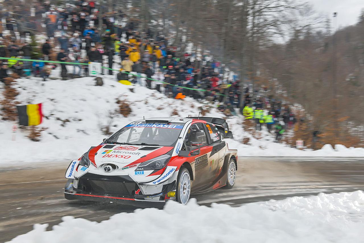 WRC 第1戦 ラリー・モンテカルロ デイ3