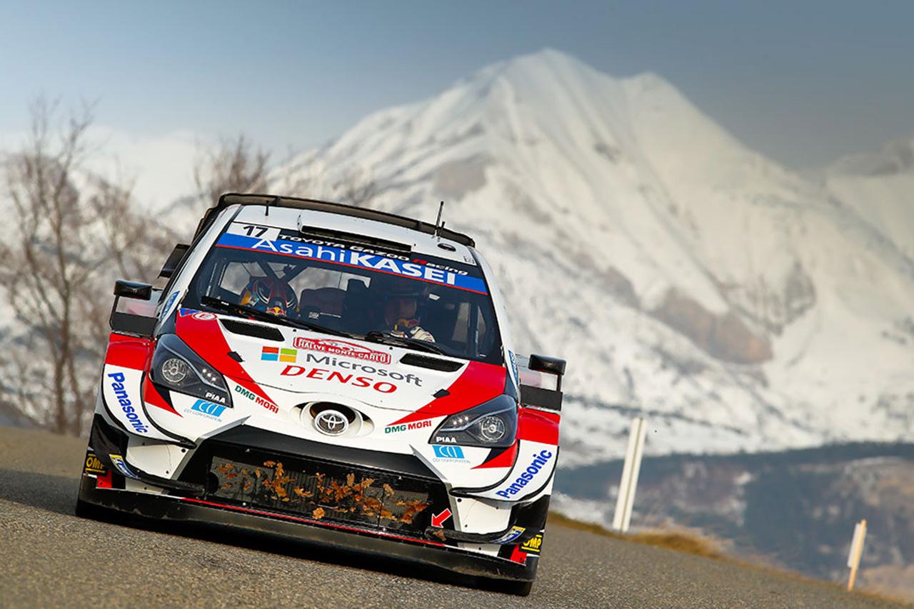 WRC 第1戦 ラリー・モンテカルロ シェイクダウン 結果
