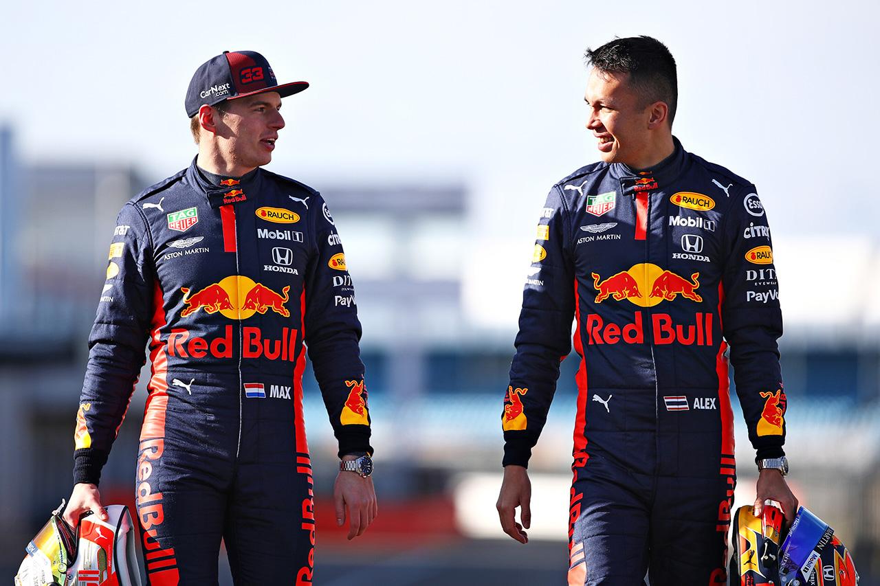 レッドブル・ホンダ、F1バルセロナテスト1回目のドライバー日程を発表