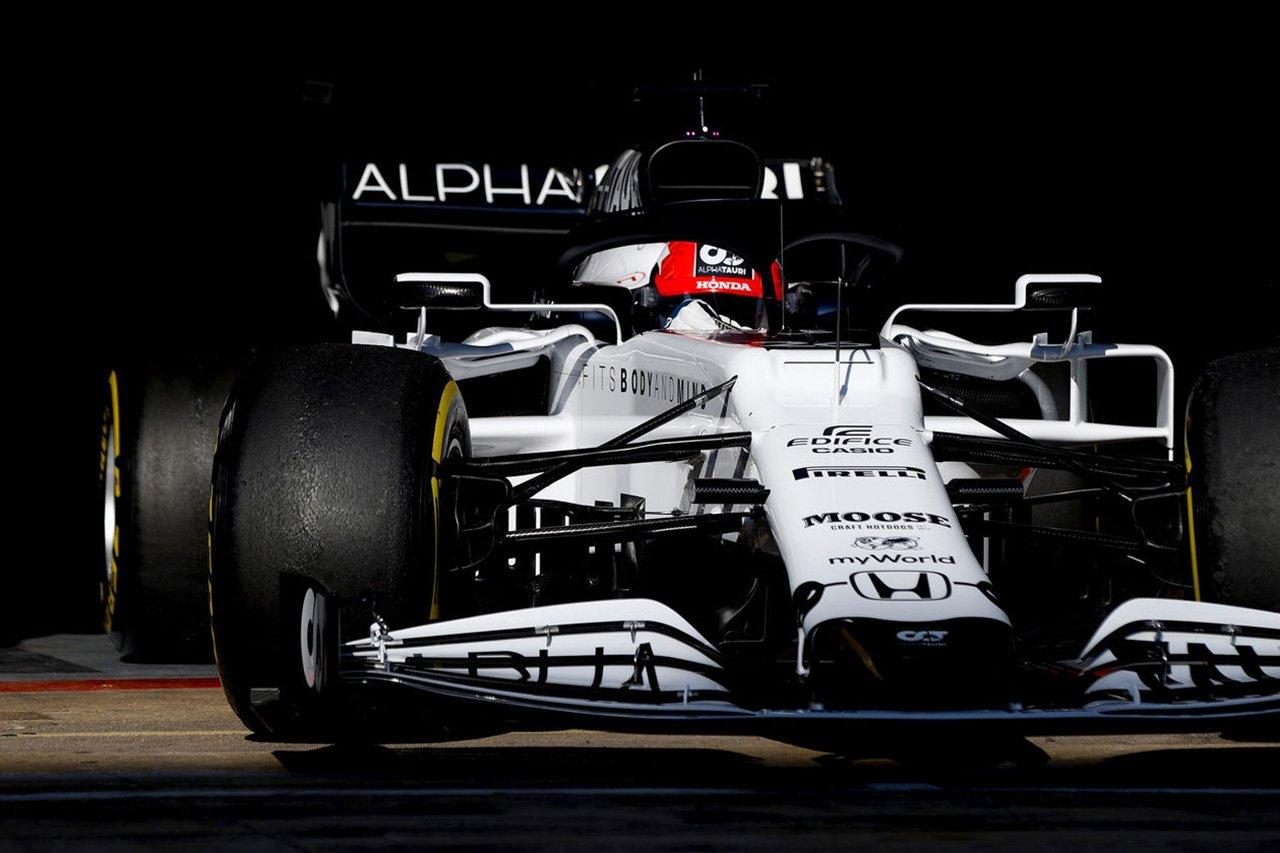 ホンダF1、大きなトラブルなく2チーム合計で284周を周回 / F1バルセロナテスト1日目