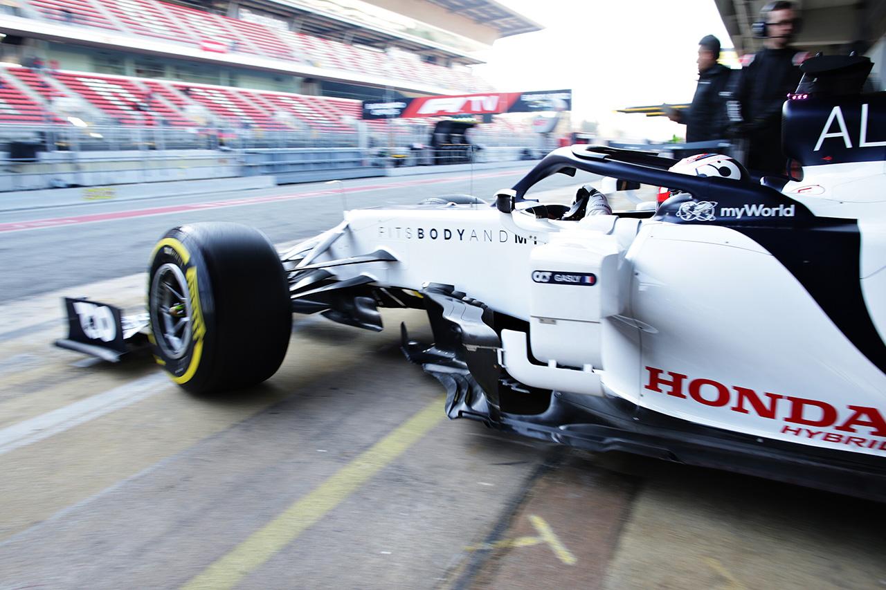 アルファタウリ・ホンダ F1バルセロナテスト2日目 レポート