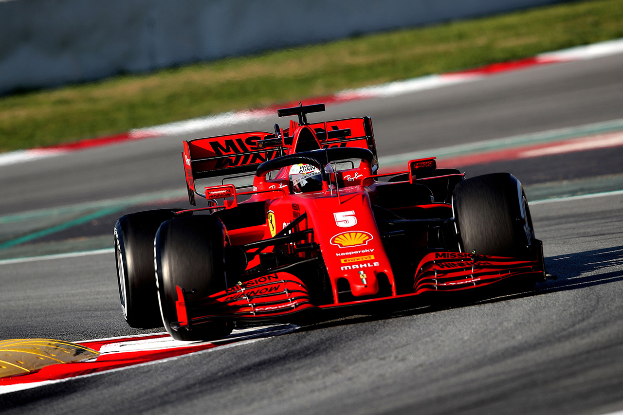 F1 フェラーリ、第1回テストでのSF1000のペースへの懸念を認める