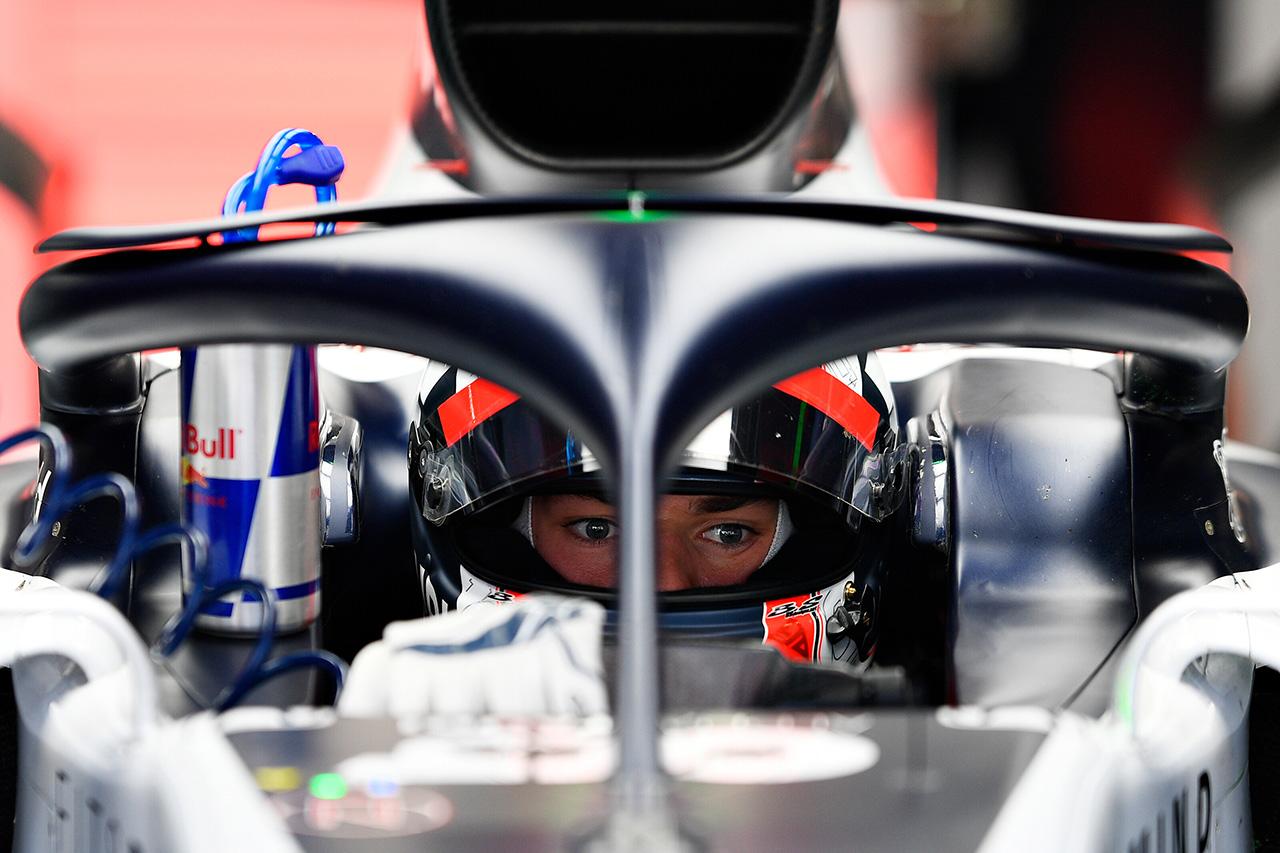 F1 ピエール・ガスリー 「AT01にはより一層のパフォーマンスを期待できる」 / アルファタウリ・ホンダF1